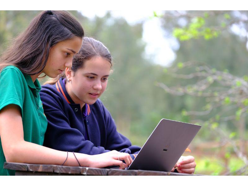using technology in Central Coast Steiner School Australia